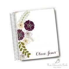 Plum Flowers My Life Planner | #dayplanner #lifeplanner #cleverowl #personalplanner #planneraddict #plannernerds #plum