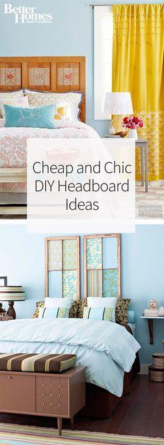 Cheap Diy Headboard diy rope headboard | diy headboards, industrial and headboard ideas