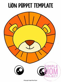 Are you teaching the letter L to your preschooler or toddler? Be sure to use this free printable paper bag lion puppet template. It is easy to cut out and craft making it with simple materials like a paper bag! The lion template comes in color and in black and white. Print yours now! Safari Animal Crafts, Giraffe Crafts, Zoo Crafts, Animal Crafts For Kids, Fun Facts About Lions, L Is For Lion, Snake Crafts, Black And White Lion, Lion Book
