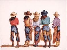 Cowgirls***Research for possible future project.