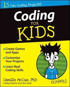J 005.13 MCC. An easy-to-grasp introduction to coding concepts for kids, this book breaks coding into a series of projects, each designed to teach elementary-to-middle-school students a core concept to build a game, application, or other tool. In this his hands-on, friendly guide readers will get access to a leading coding tool that has been designed specifically for kids, showing them how to create the projects provided in the book as well as how to implement them into their own creative work.