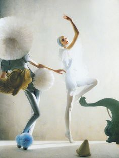 """A Magic World"": Olga Sherer by Tim Walker for Vogue Italia, January 2008"