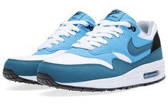 Nike Air Max 1 White/Night Factor http://nicek.is/KCuuVc