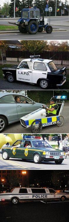 Strange police cars  #jorgenca