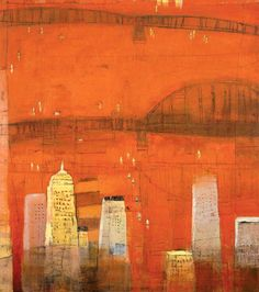 CITY IN RED : CITYSCAPES : Cityscapes, Paul Balmer