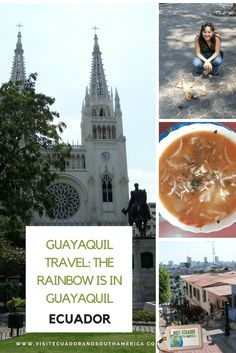 Because I am from Guayaquil a colorful city in Ecuador in the middle of the world. Latin America, South America, Spanish Speaking Countries, Just Dream, Galapagos Islands, How To Speak Spanish, Plan Your Trip, Barcelona Cathedral, Coastal