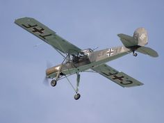 World War II Storch. The Storch has fantastic STOL performance.