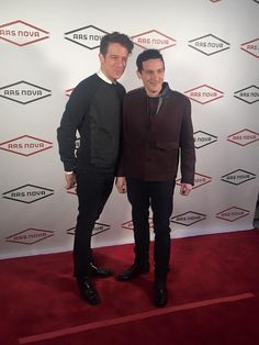 Robin Lord Taylor with husband