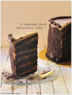 Oreo Hazelnut Butter Cream Chocolate Cake