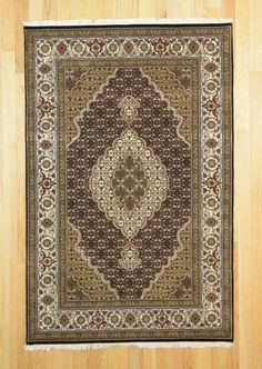 4'1X6'3 Traditional Hand Knotted Rug