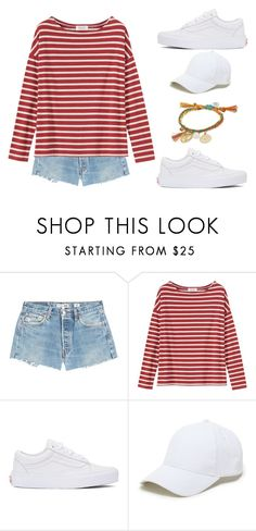 """Untitled #590"" by flawless-willie ❤ liked on Polyvore featuring RE/DONE, Toast, Vans, Sole Society and Venessa Arizaga"