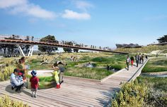 "Cinco propostas para ""Presidio Parklands"" em San Francisco"
