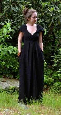 Loving the style of this unique, hooded black dress – Studio 3:19