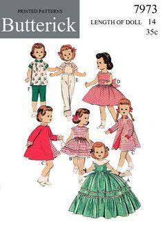 PDF Vintage Doll Sewing Pattern - buggsbooks.com