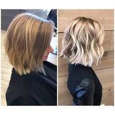 Golden Blonde Balayage for Straight Hair - Honey Blonde Hair Inspiration - The Trending Hairstyle Balayage Hair, Short Balayage, Haircolor, Hair Looks, Short Hair Cuts, Messy Short Hair, Thick Hair, Bob Hairstyles, Blonde Short Hairstyles
