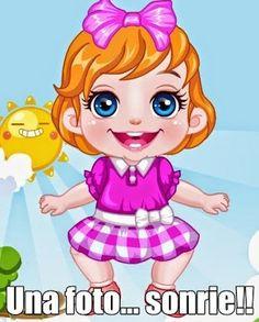 Como es #viernes nos haremos una #foto con esta bebita http://www.juegos-vestir.net/jugar/mi-bebita