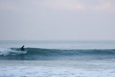 Surfing in Denmark .. down the line