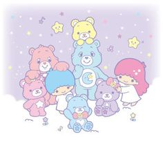【KIKILALA x Care Bears】★Little Twin Stars★