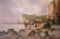 It's very possible that back in 1002, when Emma of Normandy left to wed her royal English husband, she set sail from the port at Fecamp. She certainly would have been familiar with the white cliffs of the Alabaster Coast. One wonders if she knew about the white cliffs that would greet her across the Narrow Sea, or if she would have been taken completely by surprise.