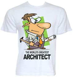 MENS FUNNY COOL NOVELTY ARCHITECT ARCHITECTURE T-SHIRT JOKE GIFT PRESENT SLOGAN