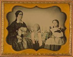 Milliner & Daughter, ca. 1854. LoC | In the Swan's Shadow