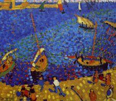 Bateaux à Collioure, 1905