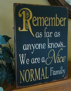 I need this on the back of the front door as a gentle reminder for my family before we go out in public.
