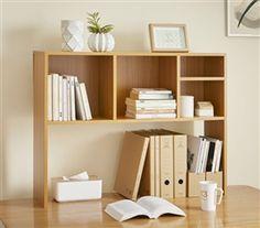 The College Cube - Dorm Desk Bookshelf - Beech (Natural Wood) Dorm Shelving Dorm. The College Cube - Dorm Desk Bookshelf - Beech (Natural Wood) Dorm Shelving Dorm Essentials College Supplies Dorm Shelves, Bookshelf Desk, Bookshelves, Shelving, Desk With Shelves, Tabletop Bookshelf, Desktop Bookshelf, Bookshelf Speakers, Closet Shelves