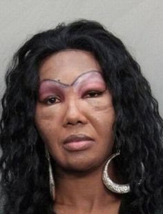 a collection of some of the weirdest and worst eyebrows you've ever seen