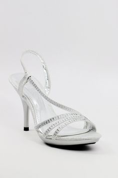 1aef4291e85b Homecoming Shoes Silver (Style 200-47)
