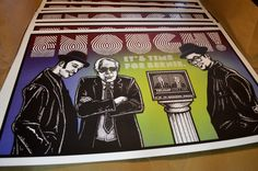 "Bernie Sanders RUN DMC (15.5""X24"") Signed and Numbered Political Art Poster"
