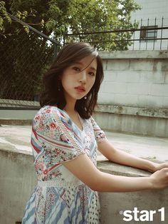 Myoui Mina (Twice) - Magazine Pics Kpop Girl Groups, Korean Girl Groups, Kpop Girls, Marie Claire, Nayeon, Twice Photoshoot, Sana Momo, Myoui Mina, Vogue