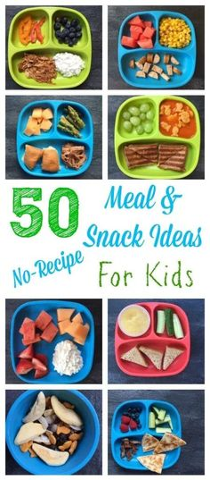 50 healthy meal and snack ideas for kids that require minimal cooking and no recipe! /MomNutrition/ 50 healthy meal and snack ideas for kids that require minimal cooking and no recipe! Healthy Kids, Healthy Drinks, Healthy Snacks, Healthy Recipes, Detox Recipes, Dinner Healthy, Cooking For One, Easy Cooking, Healthy Cooking