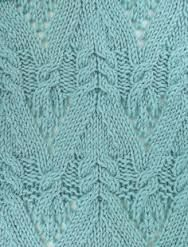 Image result for allover cable and lace knitting patterns