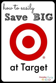 Learn all the tip and tricks to easily save at Target! We make it easy for you to find all the best deals, sales and save!