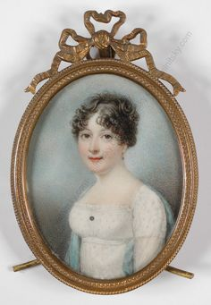 English School, Portrait of a Lady, ca.1810