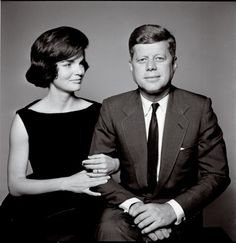 I've always liked this picture. JFK was always encouraging Jackie to more involved with the media and PR but here it's JFK who looks slightly uncomfortable and Jackie who appears more relaxed.