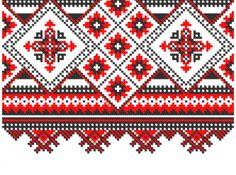 slavonic knitting patterns background vector set