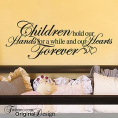 Baby Vinyl Wall Decal Inspirational Quote by Twistmo