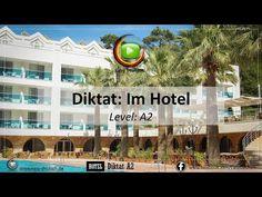 Deutsch Hörverstehen: Diktat Level A2 - Im Hotel - YouTube