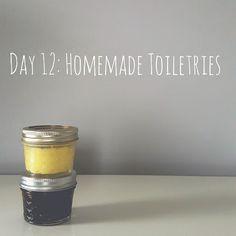Zero Waste Nerd: 30 Days to Zero Waste (Day 12: Homemade Toiletries)