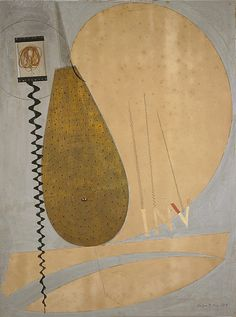 Man Ray, Involute, 1917, Mixed-media collage on card laid on laminated board, 61.50 x 46.50 cm, National Gallery Scotland, © Man Ray Trust/ADAGP, Paris and DACS, London 2004
