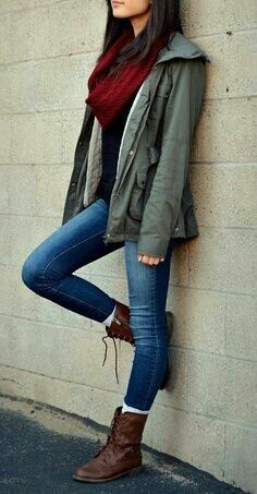 Amazing Casual Fall Outfits It is important for you to The police officer This Weekend. Get influenced using these. casual fall outfits for teens Fall Fashion Outfits, Mode Outfits, Fall Winter Outfits, Look Fashion, Outfits For Teens, Autumn Winter Fashion, Casual Outfits, Womens Fashion, Fall Fashions
