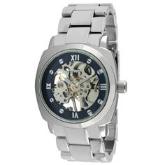 TKO ORLOGI Women's TK628S Silver-Tone Metal Mechanical Skeleton Watch TKO. $150.00. Adjustable fold over clasp. Boyfriend watch style. Skeleton dial. Water-resistant to 30 M (99 feet). Mechanical movement