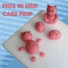 Kit Kat Birthday Cake : Pigs in Mud (recipe)