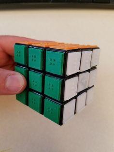 Rubik's Cube Braille Tiles 3D Print 143199