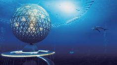 Japanese Firm Unveils Design For Underwater City