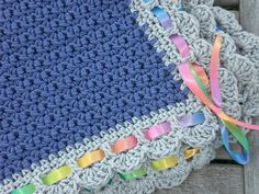 I just fell in love with this blanket, but we don't know if we are going to have a Grandson or a Grandaughter.  I think I will make this one if we get a little boy...:)