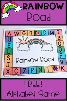 Looking For Alphabet Activities For Your Preschool Or Kindergarten Students? This Game Is A Perfect Fit For You And Your Kids Practice Letter Recognition While Playing A Fun Hands On Game. Navigate To Get Your Free Printable And Play Today Abc Activities, Free Preschool, Kindergarten Activities, Preschool Activities, Abc Games, Teaching Letters, Preschool Letters, Letters For Kids, Alphabet Kindergarten