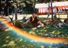 This Tibetan monk was sitting in a park and was moved to bless the deer that gathered 'round him. Someone snapped a picture, and when they looked at it, a rainbow had appeared… never underestimate the magic and power of gratitude.